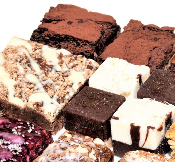 Vegan sharing box truffles
