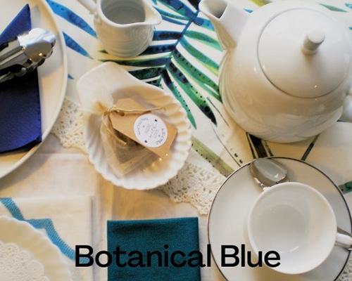 Botanical blue high tea from Good Food Fairy