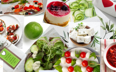 Colourfully Co-ordinated Catering Trend