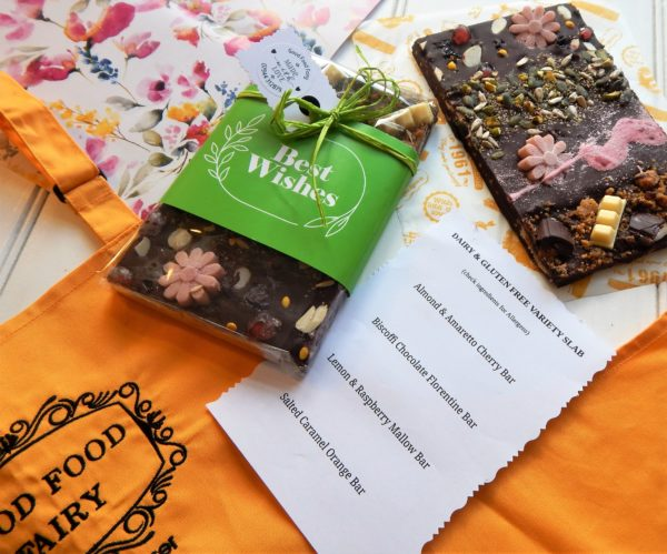 Free From Best Wishes Chocolate Slab
